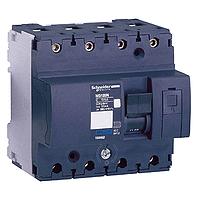 20A Schneider Electric 18859 Interruptor Autom/ático Magnetot/érmico NG125L 4P Curva D
