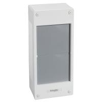 4/x 18/modules Schneider Electric Pra16418/Porte opaque Pragma pour Cofret