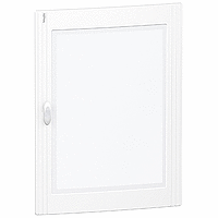 Pragma - porte transparente - pour coffret 4 x 24 modules - PRA15424