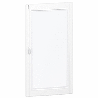 Pragma - porte transparente - pour coffret 6 x 24 modules - PRA15624